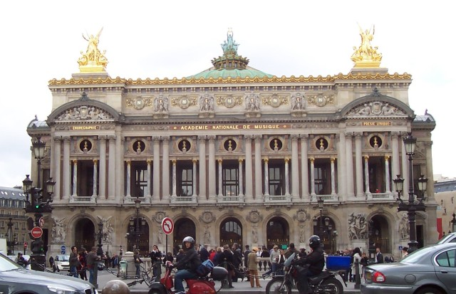 L'Opéra Garnier, Paris, France