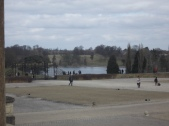 Looking away towards the Main Lake from the Great Court.