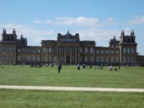 Blenheim shot from the South Lawn.