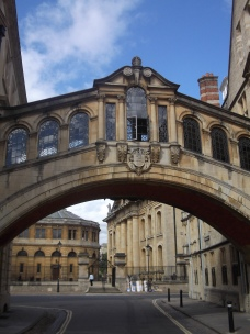 The Bridge of Sighs, Oxford, UK